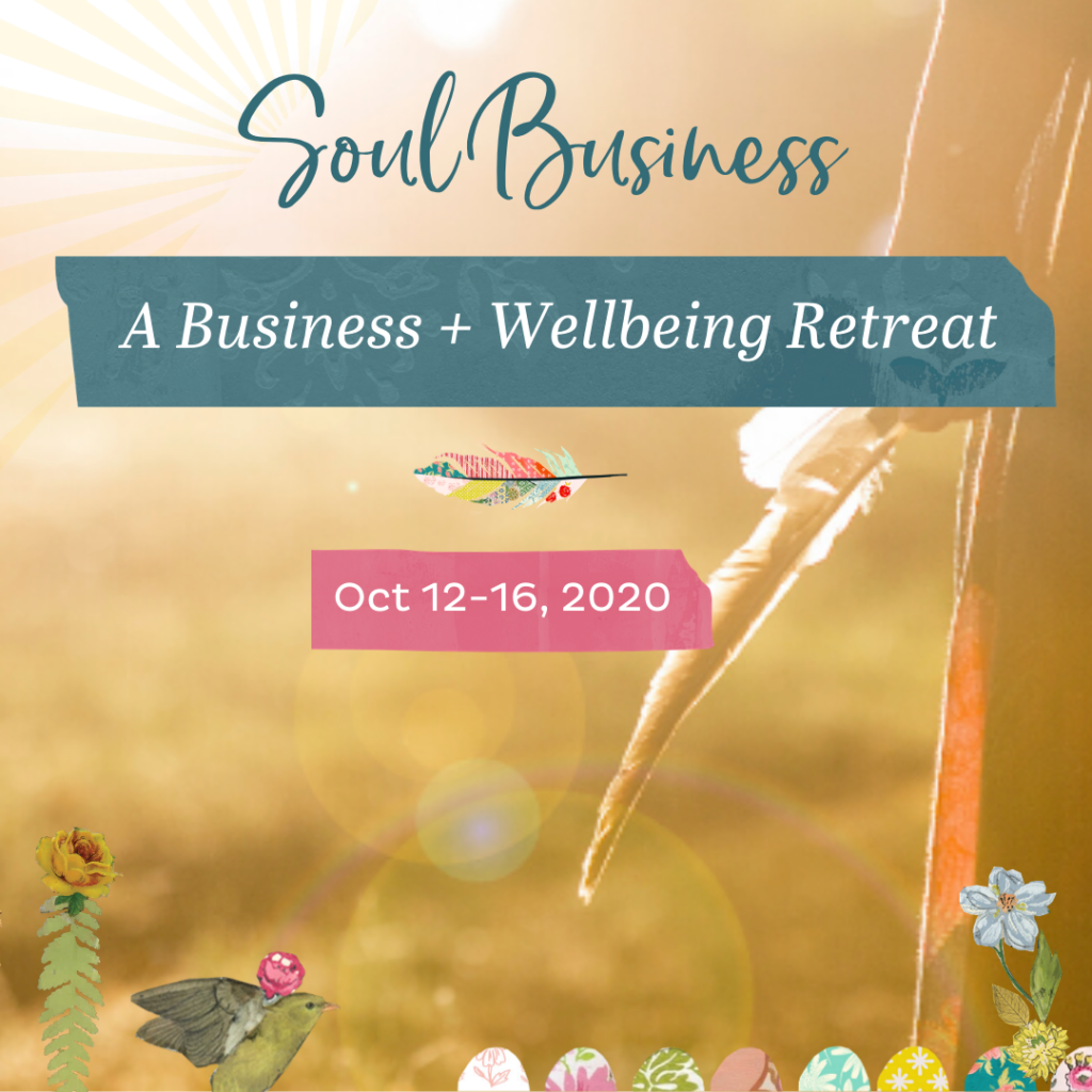 Registration is open for Soul Business: A Business + Wellbeing Retreat in The English Countryside!