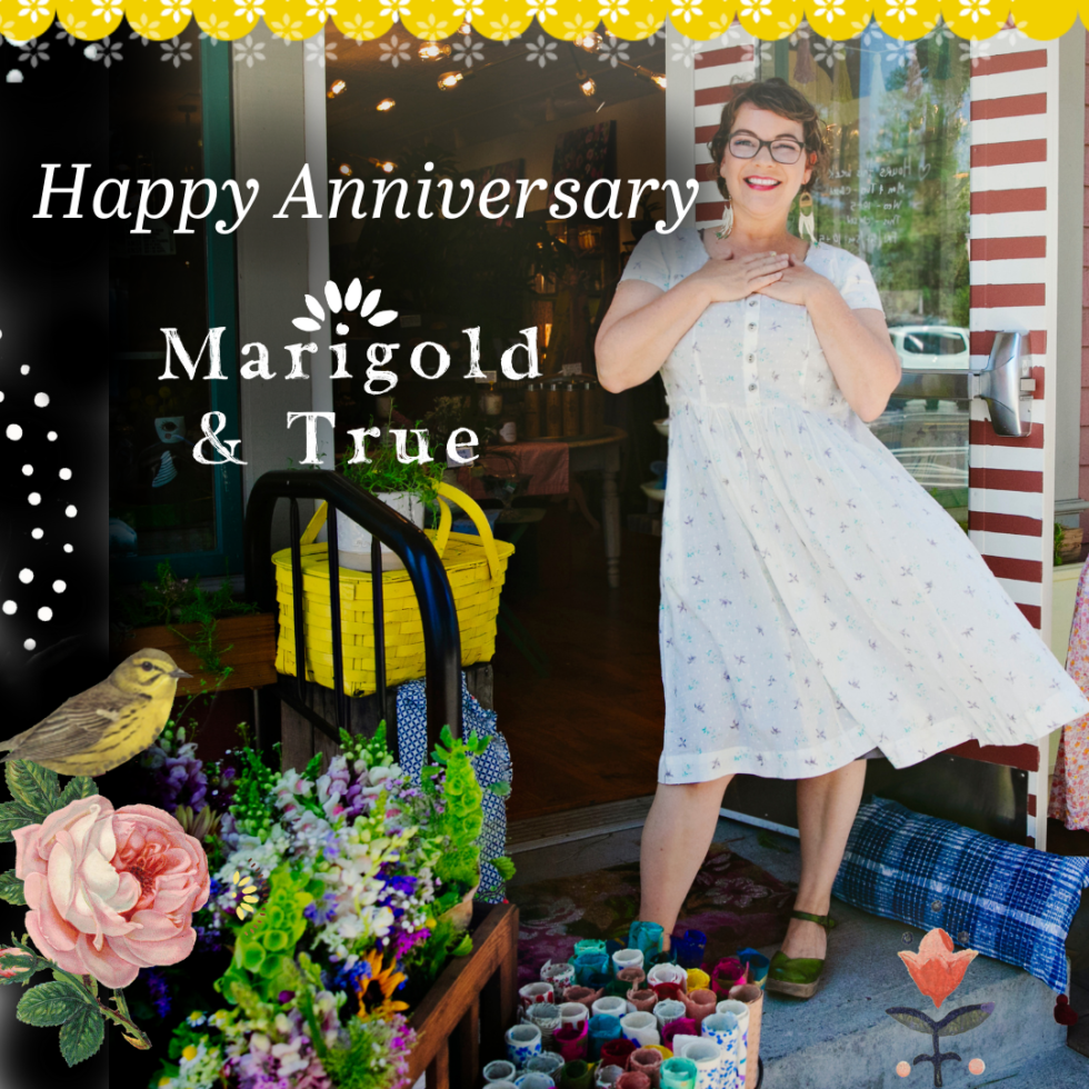 Happy birthday Marigold + True! Top 10 things I've learned about being a shopkeeper.